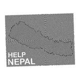Nepal Charity POSTER Royalty Free Stock Photo