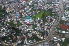Nepal city in Sep 2017 Stock Images