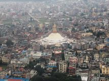 Nepal city in Sep 2017 Stock Image