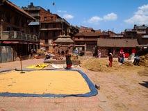 Nepal city view stock photo