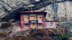 Nepal, construções históricas bonitas, maneira a Everest foto de stock