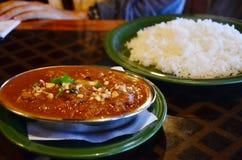 Nepal cuisine set Stock Photo