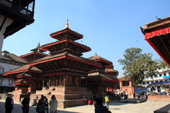 Nepal Durbar Square. Stock Photos