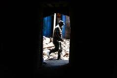 NEPAL-EARTHQUAKE-2015 obraz royalty free
