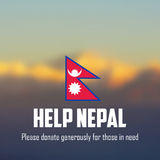 Nepal earthquake 2015 help Stock Images