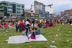 Nepal earthquake in Kathmandu Stock Photos