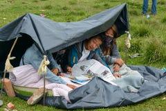 Nepal earthquake in Kathmandu Royalty Free Stock Photos