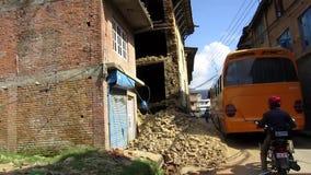 Nepal earthquake stock video footage