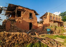 Nepal earthquake Royalty Free Stock Photography