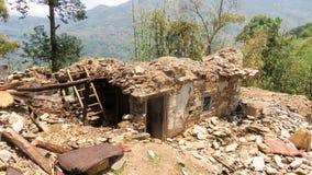 Nepal Earthquake Stock Image
