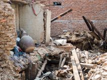 Nepal Earthquake Stock Images