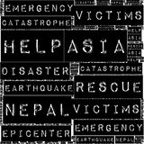 Nepal Earthquake Tremore Royalty Free Stock Photos