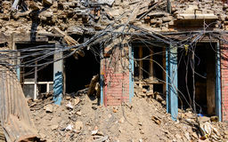 Nepal earthquakes Stock Photo