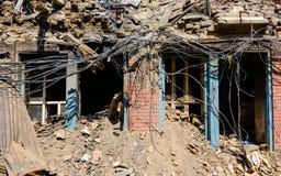 Nepal earthquakes Stock Photo