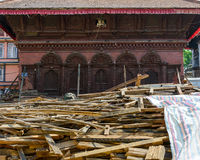 Nepal earthquakes Stock Photography