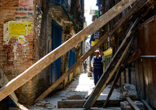 Nepal earthquakes Royalty Free Stock Images