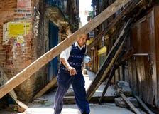 Nepal earthquakes Stock Photography
