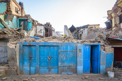 Nepal earthquakes Stock Image