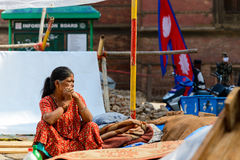 Nepal-Erdbeben Lizenzfreies Stockbild