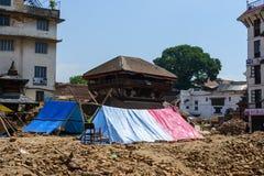 Nepal-Erdbeben Stockfoto