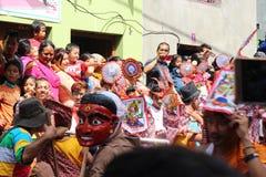 Nepal festival Royaltyfri Fotografi