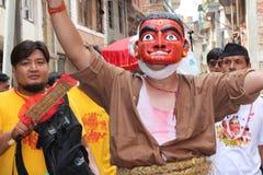 Nepal festival Royaltyfri Bild