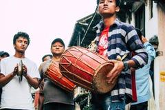 nepal folk fotografering för bildbyråer