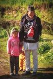 nepal folk royaltyfri fotografi