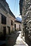 nepal gammal by Arkivbilder
