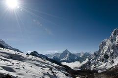 Nepal himalajów zdjęcie stock