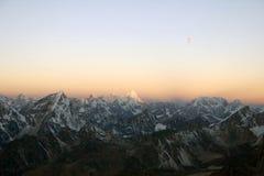 Nepal himalajski wschód słońca Obraz Royalty Free
