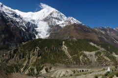 Nepal - Himalayagebergte Royalty-vrije Stock Foto