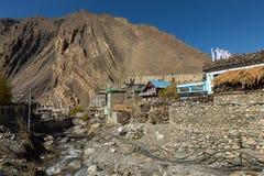 Nepal. Himalayas mountain. Kagbeni village Annapurna Conservation Area Royalty Free Stock Photography