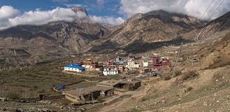 Nepal Himalayas Mustang Royalty Free Stock Photos