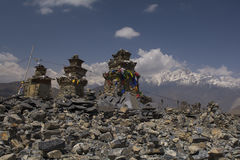 Nepal Himalayas Mustang Stock Photo