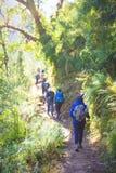Nepal - 2 January 2017 :: Hiking to Himalaya mountain in Nepal Stock Images