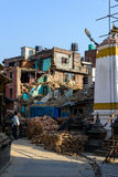 Nepal jordskalv Arkivfoto