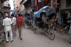 Nepal, Kathmandu centrum zdjęcie royalty free