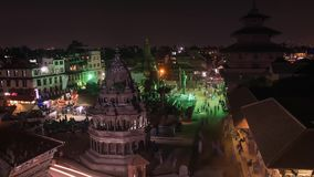Nepal Kathmandu i Pathan zbiory wideo