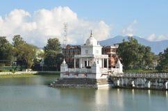 Nepal, Kathmandu, Rani Pokhari pond, in the center of the sanctuary of Shiva Royalty Free Stock Images