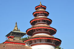 Nepal, Kathmandu, roosf of the Royal Palace Hanuman Dhoka Stock Images