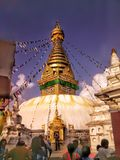 Nepal Katmandu arkivfoto