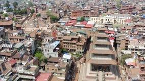 Nepal, Katmandu, Bhaktapur Cantidad a?rea almacen de video