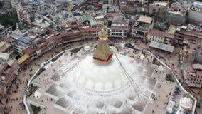 Nepal, Katmandu Boudhanath Stupa Cantidad a?rea metrajes