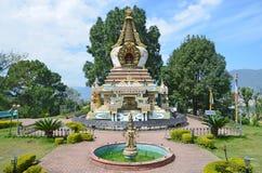 Nepal, Katmandu, monasterio de Kapan fotos de archivo