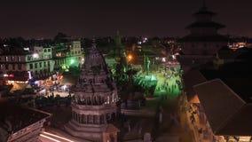 Nepal Katmandu y Pathan almacen de video