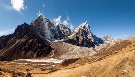 Nepal khumbu sagarmatha national park near dingboche.  Royalty Free Stock Images
