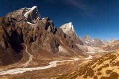 Nepal khumbu sagarmatha national park near dingboche.  Royalty Free Stock Photo