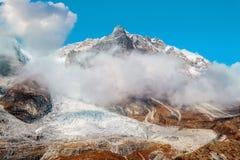 Nepal Langtang Lirung glacier royalty free stock photography