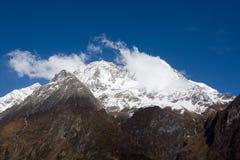 Nepal. Mountain Manaslu vicinities. Stock Photo